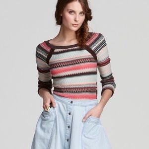 FREE PEOPLE Twinkle Stars Pullover Sweater